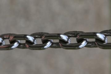 Brilliant metal chain