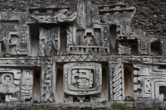 Ruins of the ancient Mayan city Xunantunich, Belize