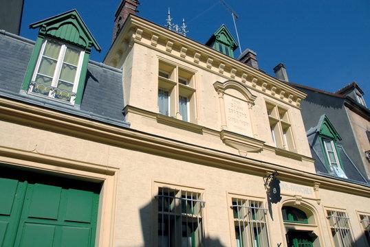 Château-Thierry, ville du département de l'Aisne, Bâtiment des bains douches,France