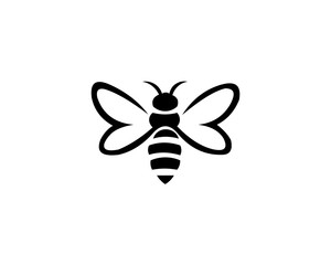 bee animal logo
