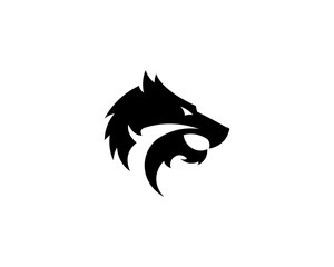 wolves animal logo