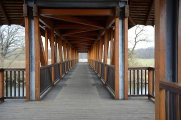 Die Jagdbrücke im Dessau-Wörlitzer Gartenreich
