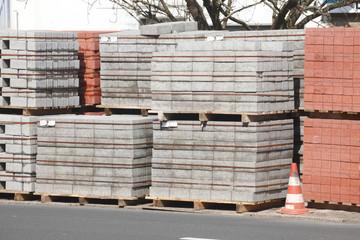 Pflasterstersteine aus Beton