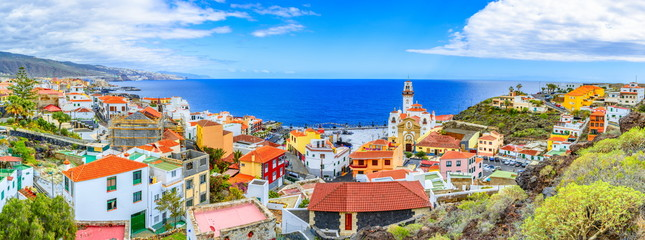 Candelaria, Tenerife, Canary Islands, Spain: Overview of the Basilica of Our Lady of Candelaria, Tenerife landmark