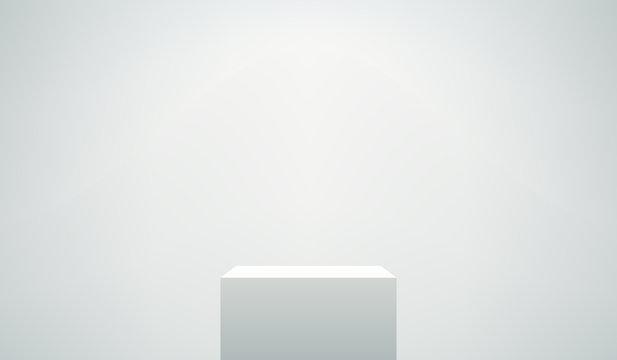 Empty Pedestal Vector