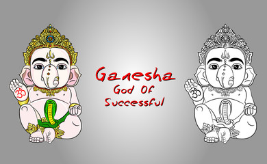 ganesha,ganesh god of hindu,god of successful,successfully