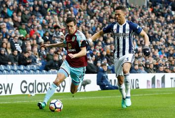Premier League - West Bromwich Albion vs Burnley