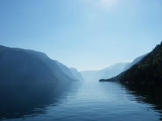 vue sur des fjords