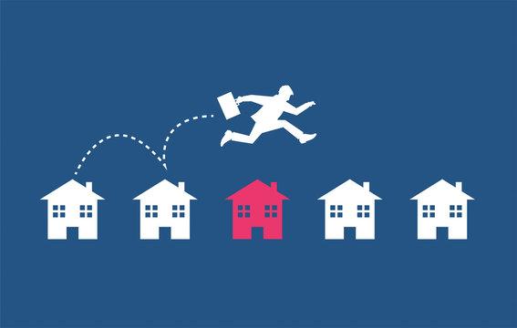 case, abitazioni, immobiliare, trasloco