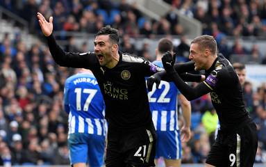 Premier League - Brighton & Hove Albion vs Leicester City
