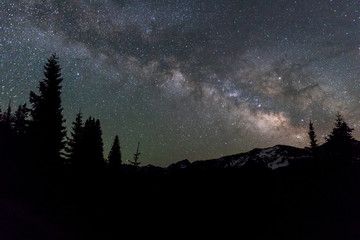 Milky Way in the Colorado Mountains