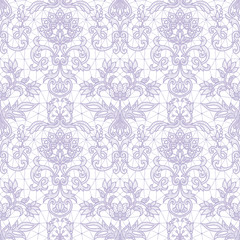 Seamless lilac lace