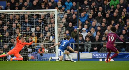 Premier League - Everton vs Manchester City