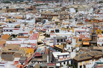 Seville rooftops Skyline