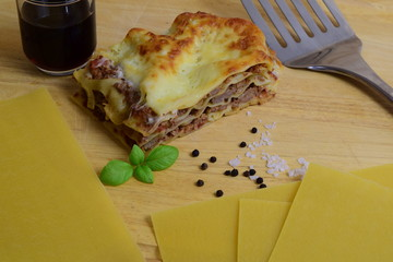 Lasagne - Hackfleischlasagne