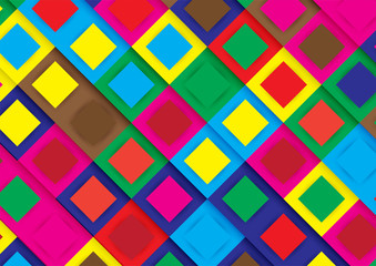 Modern Abstract background in colorful color. Template design for presentation, cover, brochure and web banner.