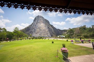 Bhudda Mountian at khao che chan, Pattaya, Thailand