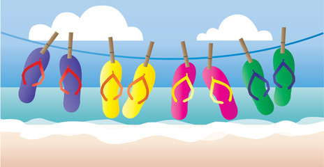 summer beach vacation header ror banner website