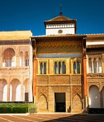 Famous Alcazar of Seville, Spain