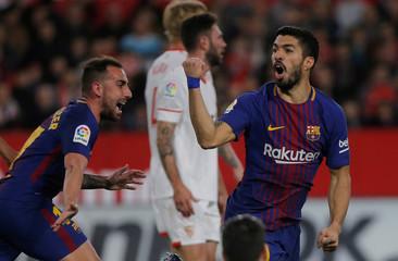 La Liga Santander - Sevilla vs Barcelona