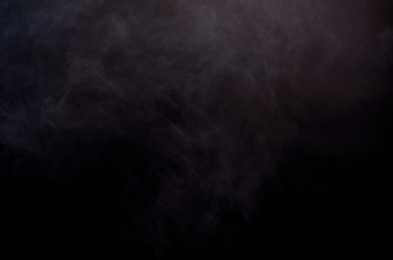 Abstract Smoke Clouds, All Movement Blurred, intention out of focus