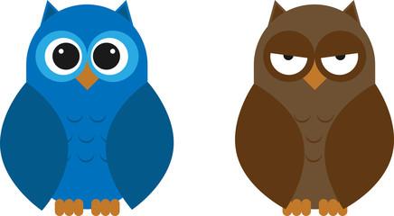 Rounded Owl Set
