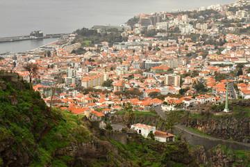 Funchal, Portugal - february 22 2018 : botanical garden