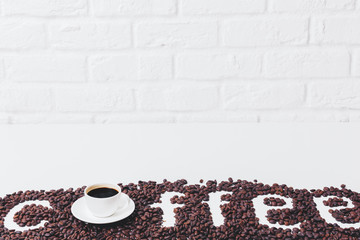 Contemporary coffee wallpaper