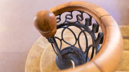 rampe d'escalier ancienne