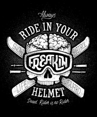 Helmet Safety Propaganda