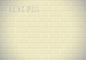 Seamless pattern golden brick wall vector background. EPS 10 Vector