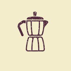 Geyser coffee maker icon