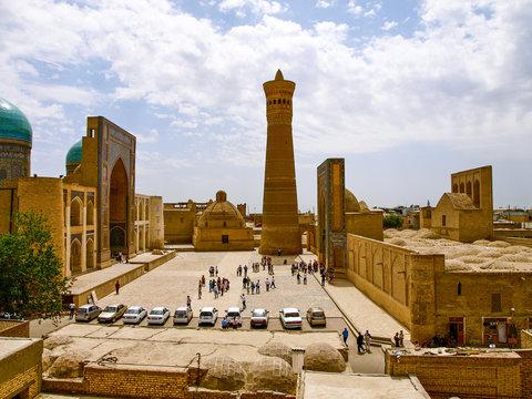 Complex Poi Kolon in Bukhara, Uzbekistan