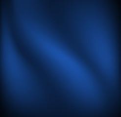 Waving blue cloth