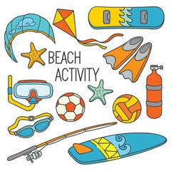 Doodle Sport Activity