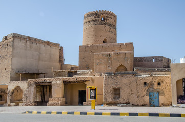 Old fort in Al Mudhaireb, Oman