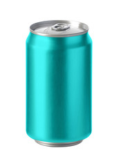 Mulltiple Colored Cans Mockup