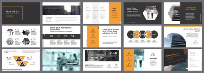Fifteen Planning Slide Templates Set