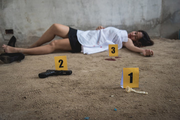 Body young woman girl dead was thief violence sexual raped and killed