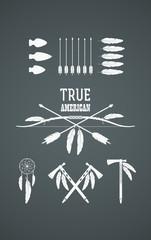 Indian symbols set