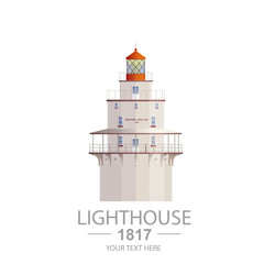 Old Lighthouse Illustration
