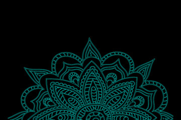 Mandala Pattern Vintage