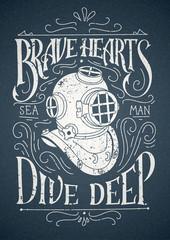 Old Diver Helmet