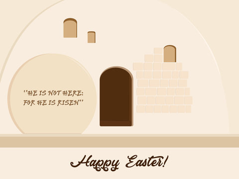 Easter holiday, Empty Stone Tomb