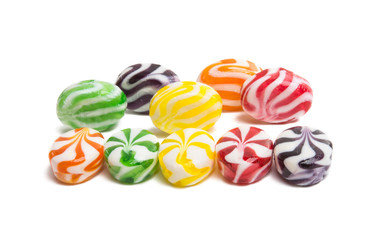 fruit milk candy isolated