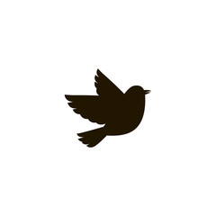 bird icon. sign design