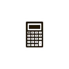 calculator icon. sign design