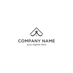 A Home Logo Design Template