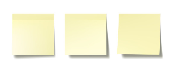 Sticky notes Wall mural