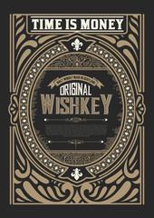 Western card template